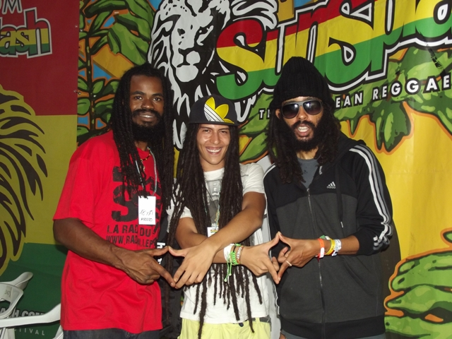 Paris Dennis (Indiggnation Band), Pot Of Gold Soundsystem & Protoje@Rototom 2013