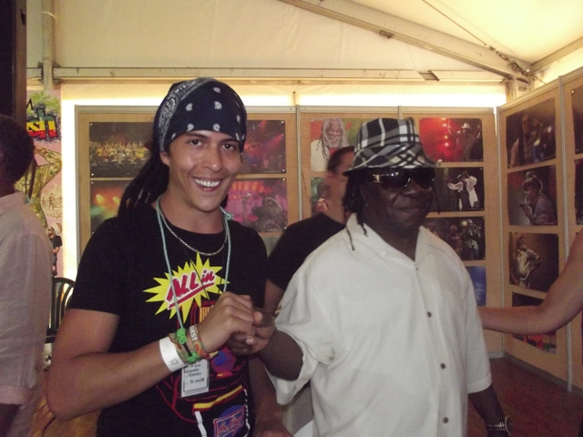 Lester Sterling (The Skatalites) & Pot Of Gold Soundsystem@Rototom 2013