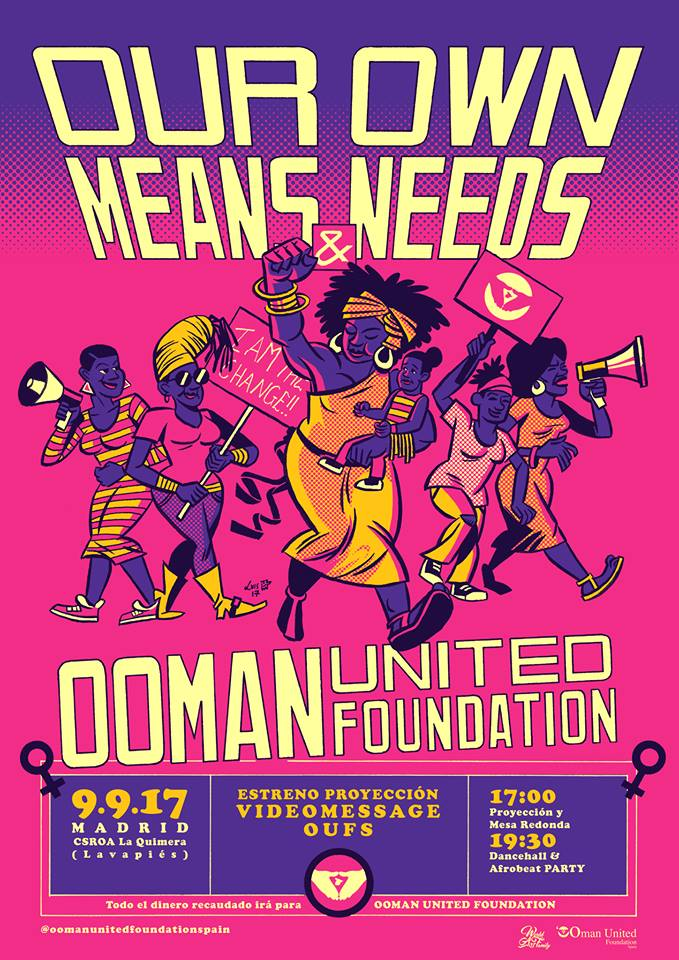 Our Own Means Needs OOman United Foundation 9 9 17 Quimera