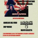 Presentación Materia Oscura ¨Orient Express¨@Tuttimondi (Barajas) 2/11/2013